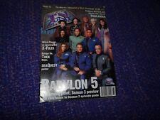 TV Zone Magazine #72 November 1995 *Babylon 5 Cover*