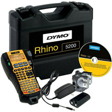 NEW DYMO Rhino 5200 Label Machine Industrial Kit Set Labelling Heavy Duty