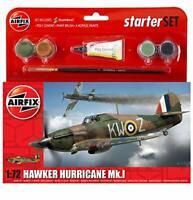 1:72 Scale Hawker Hurricane MkI Starter Gift Set