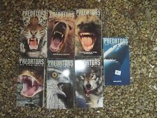 7 TIME LIFE VIDEO PREDATORS OF THE WILD  VHS TAPES:Snake,Bear,Shark,Wolf,Hawk+++