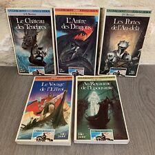 Lot LDVELH La Quete du Graal Folio Junior livre dont vous etes le Heros