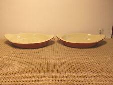 "Vintage Hall China Set of 2  Augratin Dishes 8 1/8"" #527"