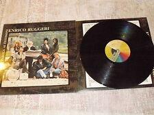 """ENRICO RUGGERI """"LA PAROLA AI TESTIMONI"""" LP CGD Ita 1988 gatefold"""