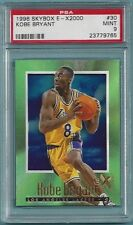 Kobe Bryant Lakers 1996 Skybox E-X2000 #30 Rookie Card rC PSA 9 Mint QTY
