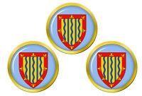 Cambridgeshire (Angleterre) Marqueurs de Balles de Golf