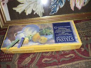 Winsor & Newton Artists Soft Pastels Box Of 12