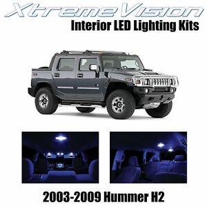 XtremeVision Interior LED for Hummer H2 2003-2009 (15 PCS) Blue