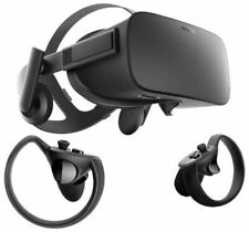 Oculus Rift + Touch Virtual Reality Headsets with Touch Controllers - Black (301-00095-01)
