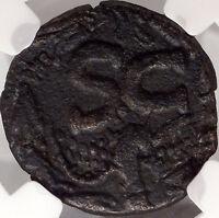 HATRA  2CenAD Ancient Greek Coin Under Romans NGC Certified i44325