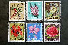Timbre AUSTRALIE / Stamp AUSTRALIA - Yvert et Tellier n°367 à 372 n** (Cyn17)