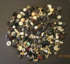 LARGE COLLECTION OF OLD RADIO KNOBS