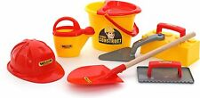Kids 8pc Construction Toys Building Tool Kits Childrens Bob the Builder Building