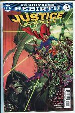 Justice League #21 - Nick Bradshaw Variant Rebirth Cover - Dc Comics/2017