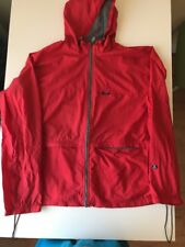 Abercrombie & Fitch Gym /092 Red Wind Breaker Size XL