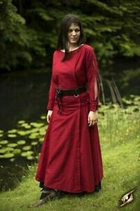 Medieval Priestess Dress Renaissance Larp SCA Costume Ladies