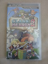 NEW Class of Heroes 2 PSP Playstation Portable No COA Free Shipping!!!