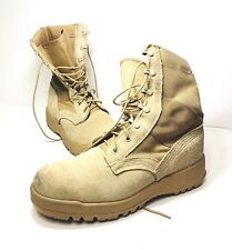 McRae Mens Desert Military Combat Boots Vibram Sole 14R Made In The USA EUC