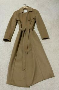 Forever New Luxury Wool Blend Camel Trench CoatSize 6