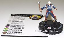 CAPTAIN AMERICA #054 #54 Avengers/Defenders War Marvel HeroClix Super Rare