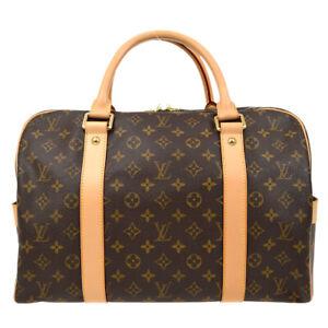 LOUIS VUITTON CARRYALL TRAVEL HAND BAG TH1006 PURSE MONOGRAM M40074 10041