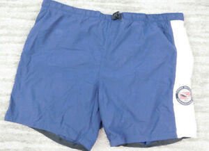 Vintage Tommy Hilfiger Dive Charter Search Rescue Swim Shorts Size XL