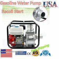 4 Stroke 3 Inch 7.5Hp Gasoline Water Pump Recoil Start 210cc 170F Engine Us
