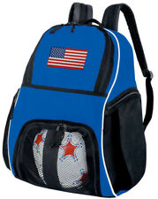 American Flag SOCCER Ball Bag or USA Volleyball Backpack -BEST SOCCER GEAR BAGS!