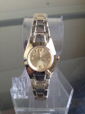 NIB RELIC by FOSSIL Payton Micro Gold Tone & Steel Bracelet Ladies Watch ZR34207