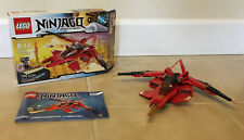 Lego Ninjago Kai Fighter (70721) - w/box and instructions-missing one minifigure