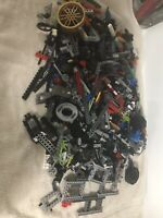 Lot Of 4 lbs Lego Bionicle And Technic Parts  please see photos