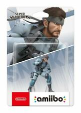 Nintendo Amiibo Ultimate Snake Figure Super Smash Bros Ultimate Switch