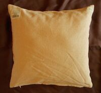 "Primitive Country Cotton Burlap Decorative Throw Pillow - 16"" x 16"""