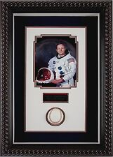 NEIL ARMSTRONG-1st MAM ON MOON SIGNED BASEBALL+APOLLO11+SIGNED PHOTO+PSA/DNA COA