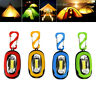 Portable Super Mini Cob Light Led Flashlight Key Ring Torch 3-Mode Keychain mo