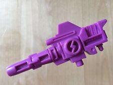 Transformers G1 Parts 1989 SNARLER gun weapon pretender