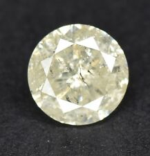 1/2 Ct CERTIFIED Round Cut Natural Diamond for Engagement Ring White G-H Color