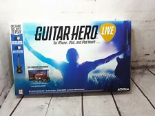 GUITAR HERO LIVE Guitar for iPhone iPad iPod iOS Apple TV  - New