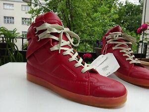 MAISON MARTIN MARGIELA for H&M Schuhe High-TOP Sneaker Leder Portugal Gr.42 Neuw