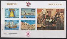 BANGLADESH :1976 Bicentenary of American Revolution MS IMPERF SG MS84 MNH