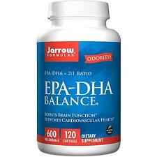 EPA - DHA Balance - 120 Softgels by Jarrow Formulas - Boosts Brain Function