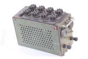 Stromversorgung für Funkgerät NVA R104 M vintage 1963