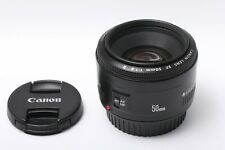 Near MINT CANON EF 50mm F/ 1.8 Ⅱ AF Lens JAPAN 201277