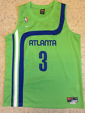 Shareef Abdur-Rahim Men's XL Nike Swingman Atlanta Hawks NBA Throwback Jersey
