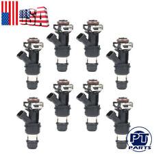 Set of 8 60lb Fuel Injectors for GM Marine 8.1L Truck 2001 2002 2003 2004  630cc