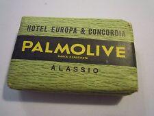 PALMOLIVE - SAPONETTA DA HOTEL EUROPA & CONCORDIA ALASSIO - VINTAGE - (GIO-6)