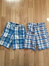 Boys 4t Tommy Hilfiger Plaid Shorts Lot Of 2