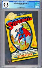 SUPERMAN #1 CGC 9.6 *JERRY SIEGEL & JOE SHUSTER* MILLENNIUM ED REPRINT 1939-2000