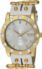 Versus by Versace Women's S73030016 MIAMI CRYSTAL Stainless Steel White Watch