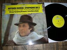 """M-/NM DVORAK Symphony 9 """" Aus der neuen Welt """" GIULINI CHICAGO SYMPHONY  DG LP"""