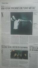 HIM lot report spanish magazine